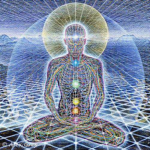 Alex Grey Body and Spirit